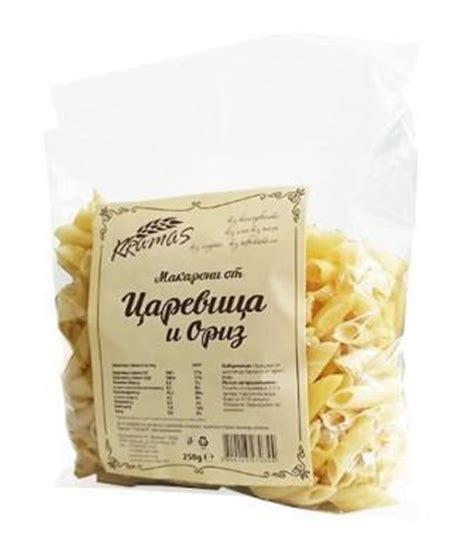 pasta corn and rice