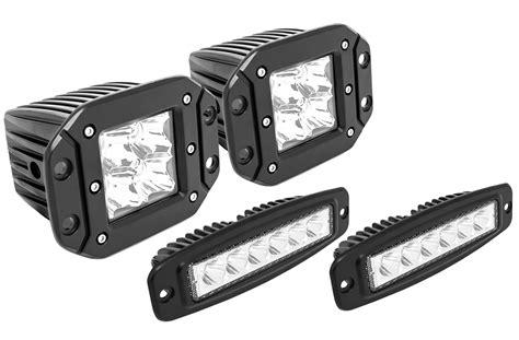 led flush mount garage lighting westin flush mount led auxiliary light autoaccessoriesgarage