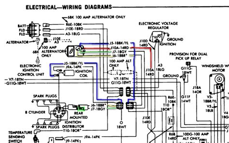 1979 chevy wiring diagram chevy voltage regulator