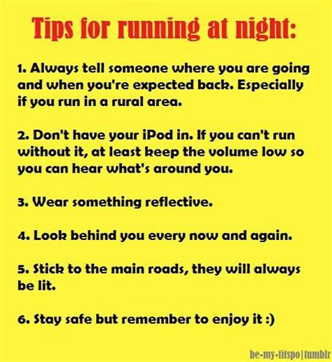 9 tips for running safely running safety tips posts tips and safety tips