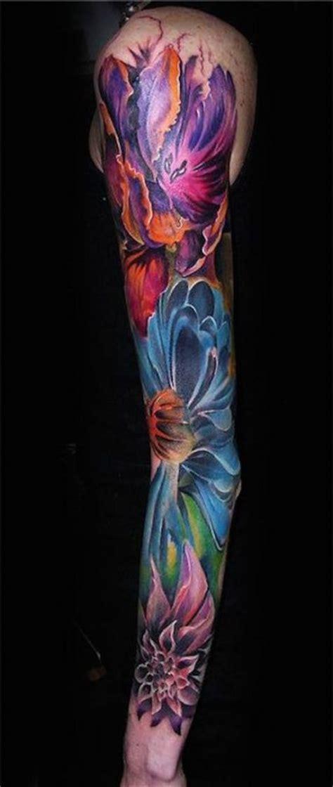 88 Best Flower Tattoos On The Internet Amazingly Beautiful Flower Arm Tattoos