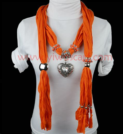pendant scarf necklace jewelry china scarf