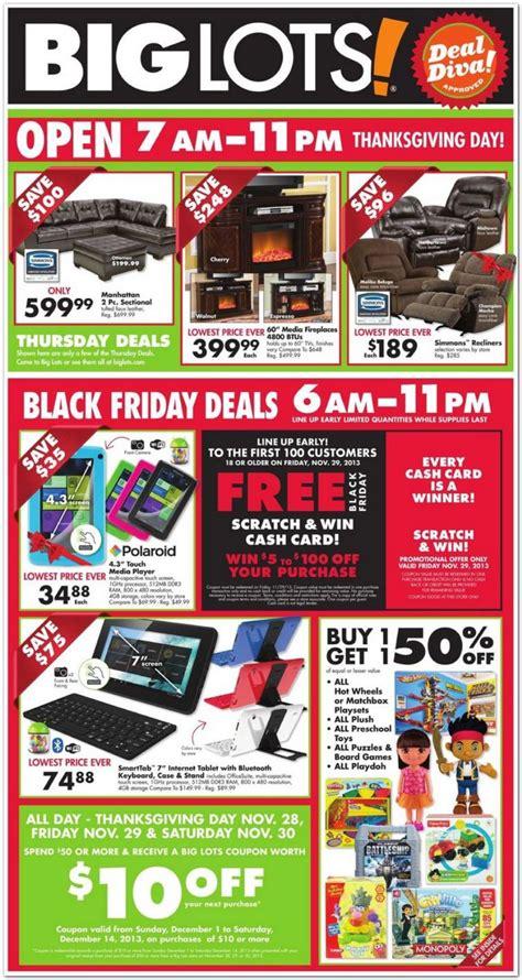 big lots black friday ad  black friday  ads  living rich  coupons