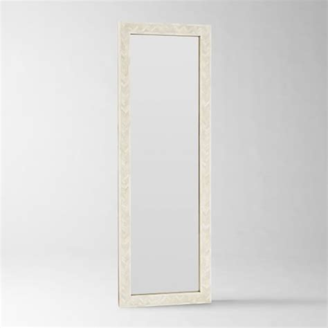 parsons floor mirror bone inlay west elm