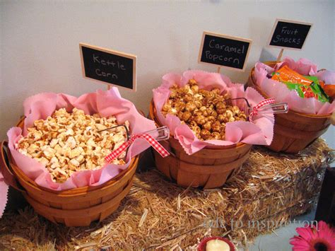 Food For A Baby Shower Bbq by Farm Theme Dessert Table Ode To Inspiration