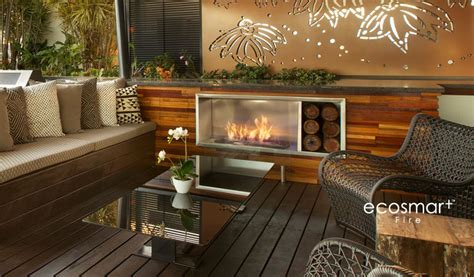 Ethanol Fireplace Perth by Fireplaces By Ecosmart Place Design Ventless