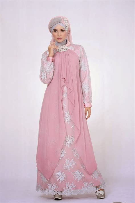 desain long dress muslimah update dress busana muslim modern 2015 nibinebu com
