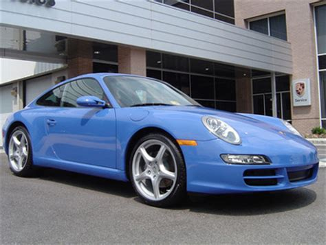 porsche maritime blue porsche 997 colour options
