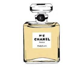 Chanel no5 illustration perfume bottle fashion by cathrynsdesigns