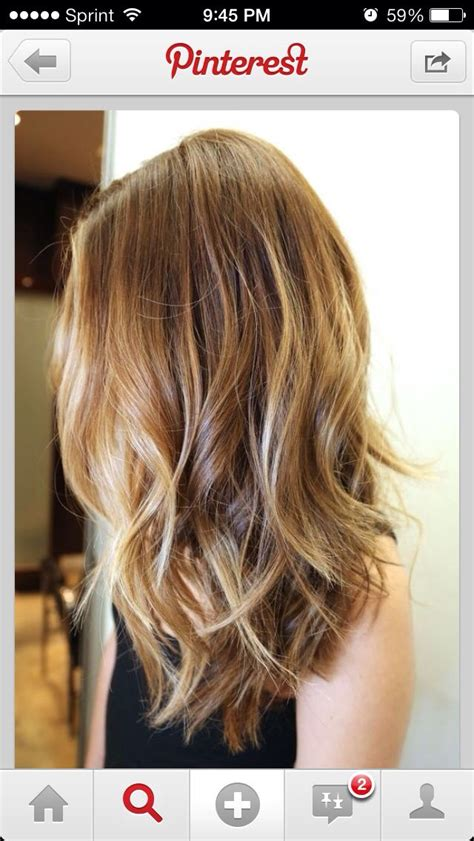 how to style long bob so doesnt look triangular 92 best subtle balayage ombre medium length hair images