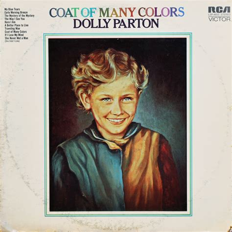 coat of many colors song dolly parton vinyl record albums