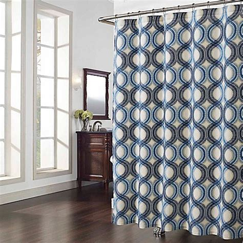 Elements Shower Curtain In Blue Bed Bath Beyond
