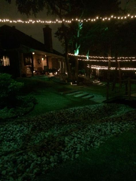 Dallas Landscape Lighting 1000 Images About String Lights Installation By Dallas Landscape Lighting On