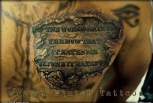 bible quotes chest tattoos for men quotesgram