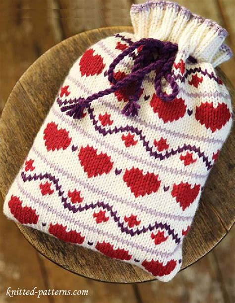 knitting pattern hot water bottle cover knitting hot water bottle cover pattern free