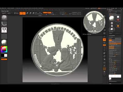 zbrush coin tutorial masking using color in zbrush doovi