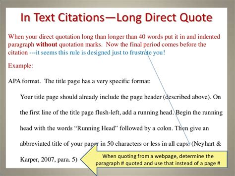 apa format citation in text apa style citing quotes in text image quotes at relatably com