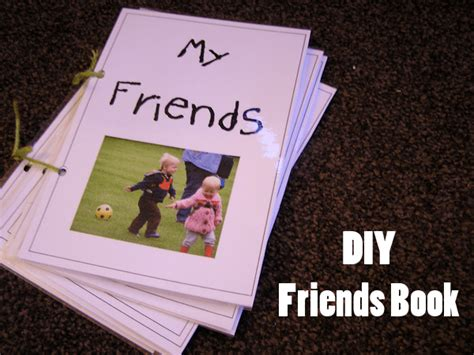 diy friendship books