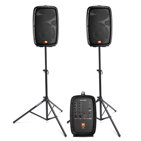 Speaker Portable Tekyo 778a jbl eon206p portable powered speaker system with samson stands