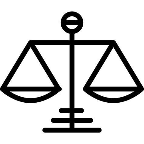 imagenes de justicia para iluminar balanza s 237 mbolo de la justicia iconos gratis de