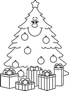 disegni immagini natale colorare stampare albero natale abete regalo regali disegni da colorare