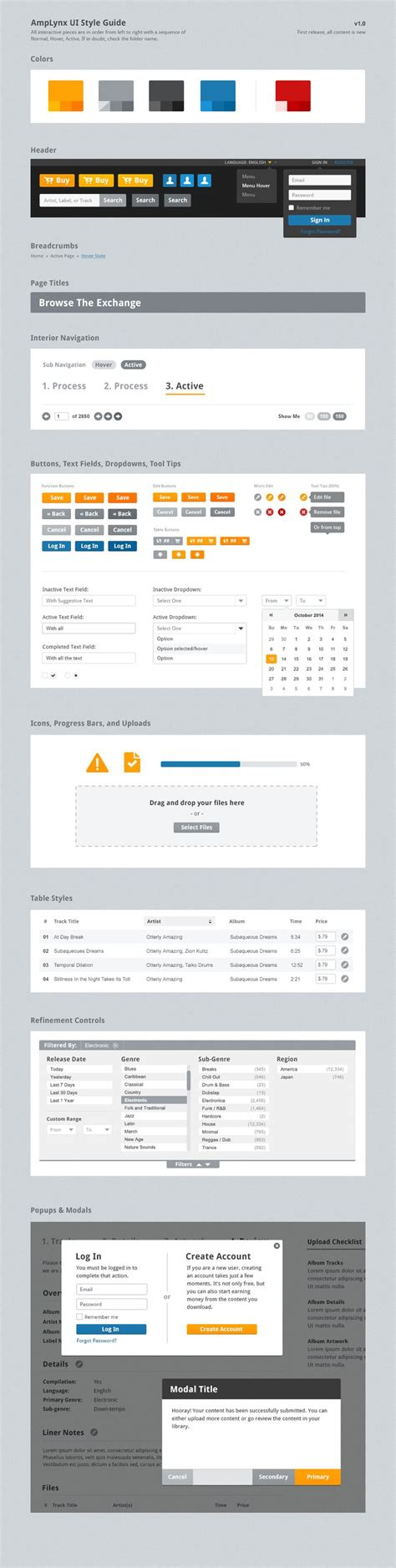 ui layout framework best 25 web style guide ideas on pinterest web ui