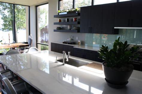 modern marble kitchen valley gold vein a white marble kitchen modern