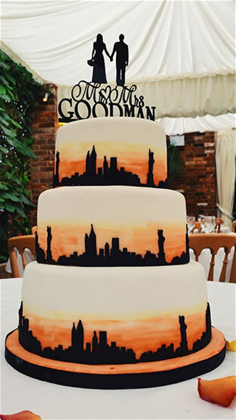wedding cakes new york city new york themed wedding cake sunday baking