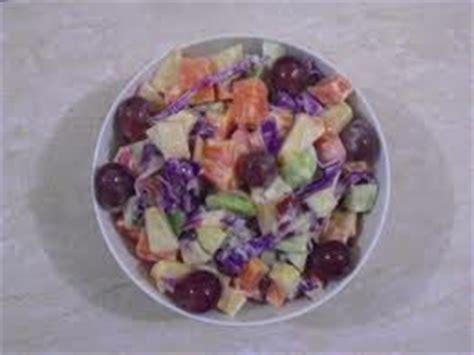 Testimoni Salad Buah 2 tips kesihatan dan kecantikan diet sihat dgn salad buah buahan