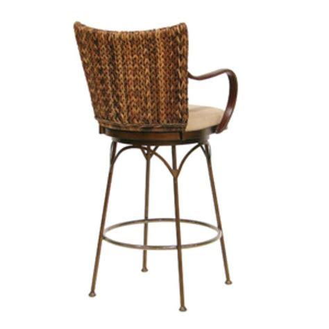 Rattan Stools Furniture by Palecek Metal Bar Stool 30 Quot 7869 Rattan Wicker