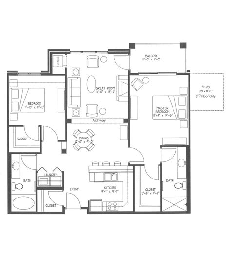 lenox floor plan lenox lenox aquila commons