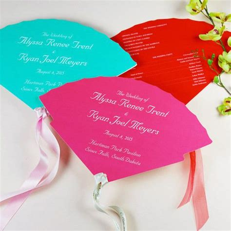 fan template martha stewart wedding ideas pinterest