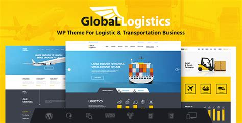 wordpress themes logistics free global logistics v1 0 transportation warehousing free