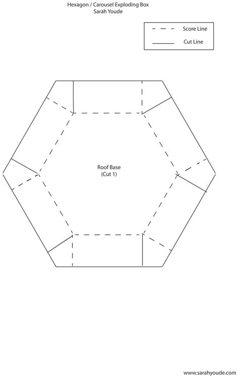 hexagonal card template 1264 best images about paper craft on