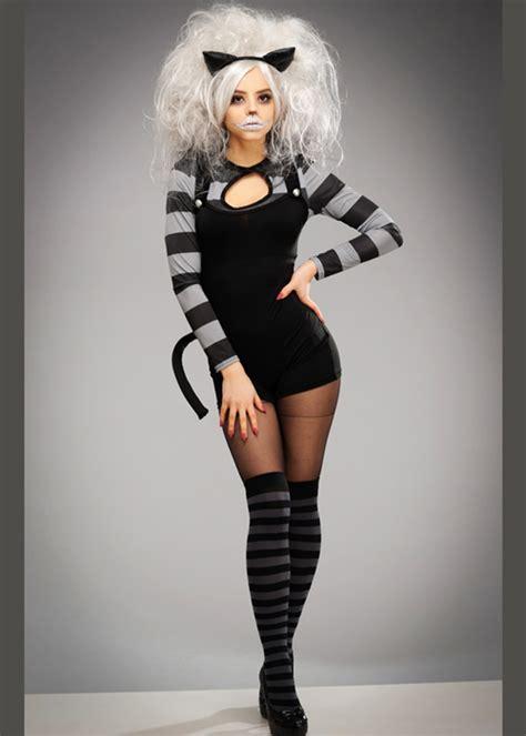 womens gothic black wicked cheshire cat costume
