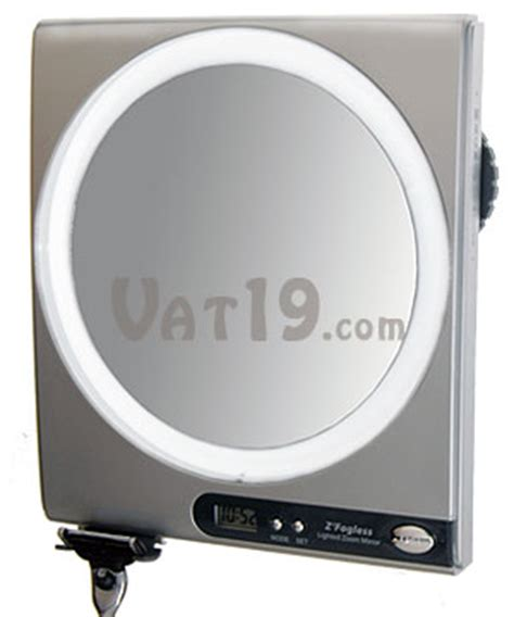 fogless shower mirror with light and magnification zadro z850 fogless shower mirror fog free mirror