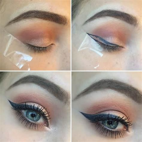 eyeliner tutorial tape best ideas for makeup tutorials how to do eyeliner using