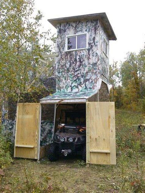 Enclosed Hunting Blinds Best 25 Deer Stands Ideas On Pinterest