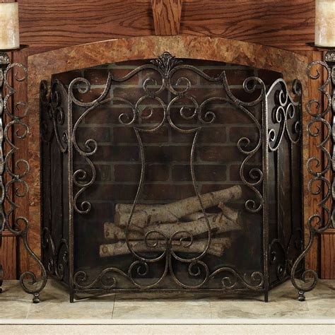 living room fantastic decorative fireplace screens