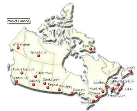 canadian map with major cities blakelycitytalk2 canada s cities