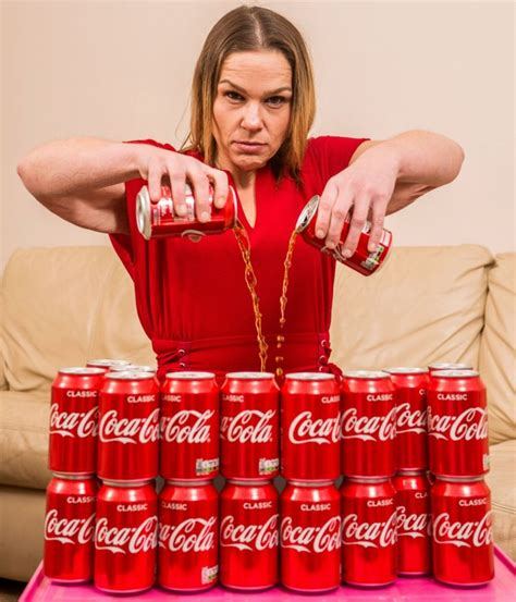 Coca Cola Detox by With Addiction To Coca Cola Drank Five Cans Every Day