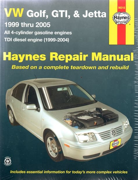 volkswagen golf gti jetta cabrio 1999 2005 haynes service repair manual sagin workshop car