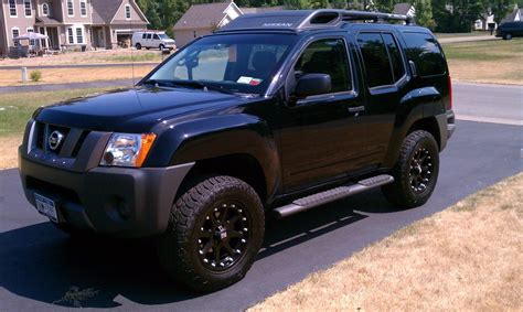 nissan xterra wheels themed photos back in black gt post a pic of your black x