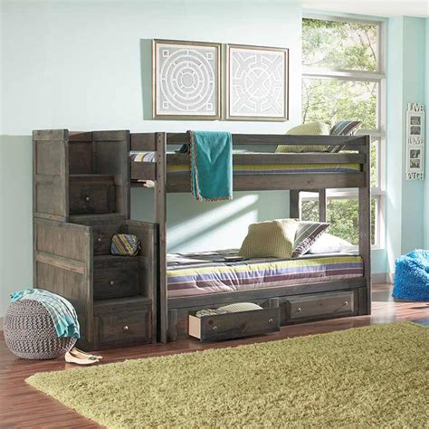 Vancouver Bunk Beds Gray Bunk Bed The Furniture Shack Discount Furniture Portland Or