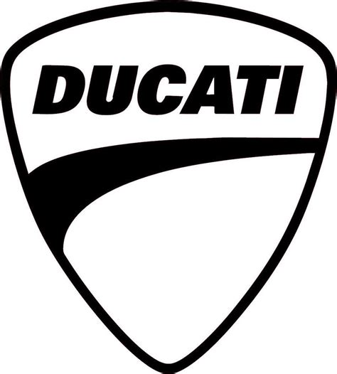 Ducati Car Sticker by Ducati Multiple Colors Vinyl Sticker Decal Logo Racing