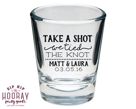 Cool Wedding Giveaways - 17 best ideas about wedding shot glasses on pinterest wedding wine glasses wedding