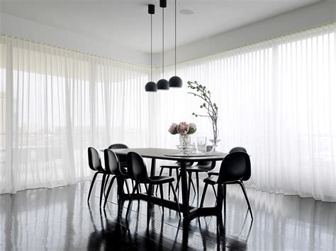 modern dining room curtains curtains with sheers living room modern with fun glam