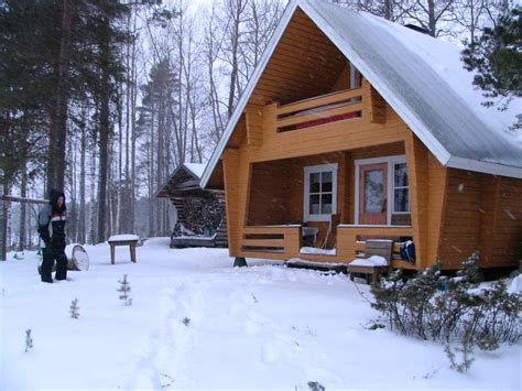 winter cottage panoramio photo of kettusaari cottage winter