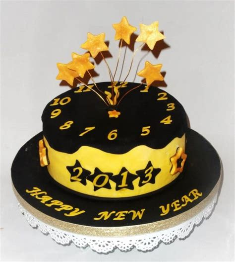 new year cake designs new year cake cake by heavenlysweets cakesdecor