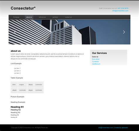 business portfolio template consectetur business portfolio template by kchristensen